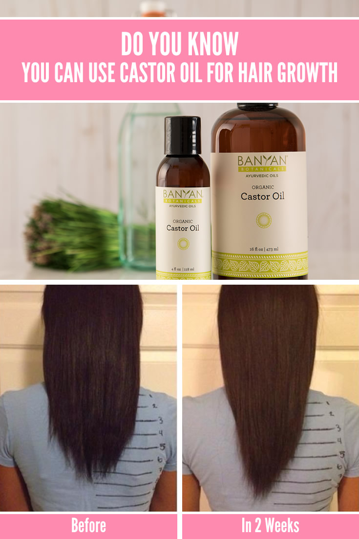 Do You Know, You Can Use Castor Oil for Hair Growth? - DIY