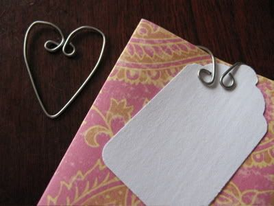 Craft Your Own Heart Shaped Paper Clips!