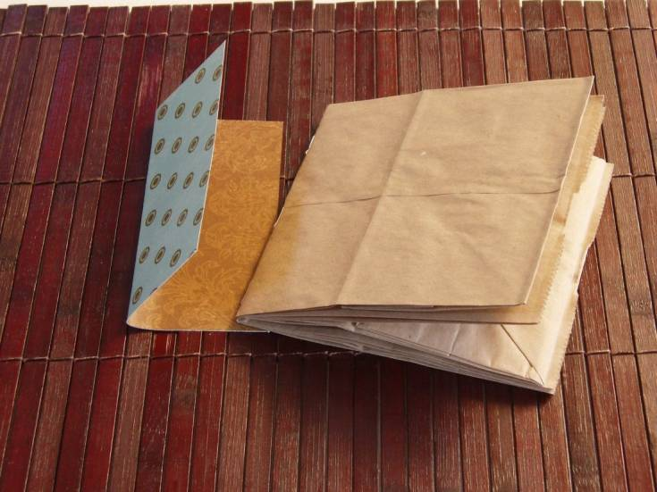 Learn To Make Your Own Scrapbook With Paper Bags!