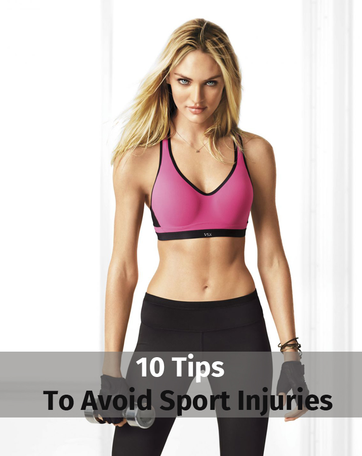 10 tips to avoid sport injuries