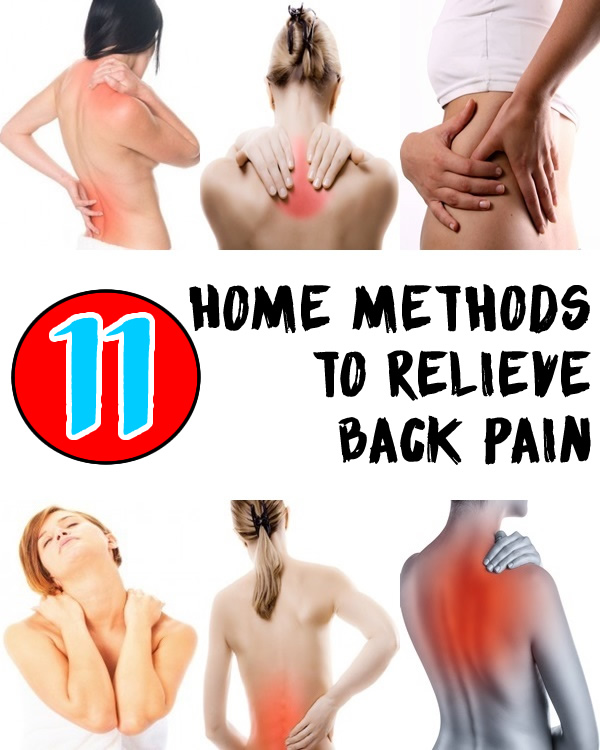 11 Home Methods to Relieve Back Pain JPEG