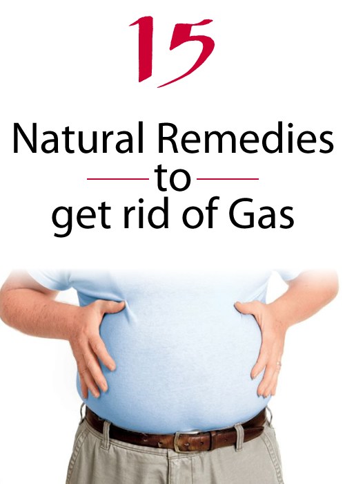 15 Natural Remedies to get rid of Gas