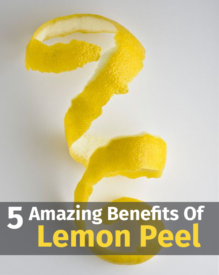5 Amazing Benefits Of Lemon Peel