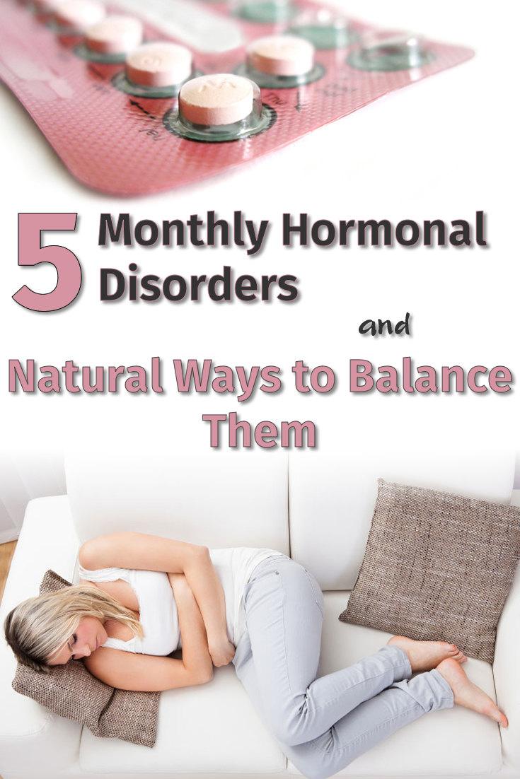 5 Monthly Hormonal Disorders and Natural Ways to Balance Them