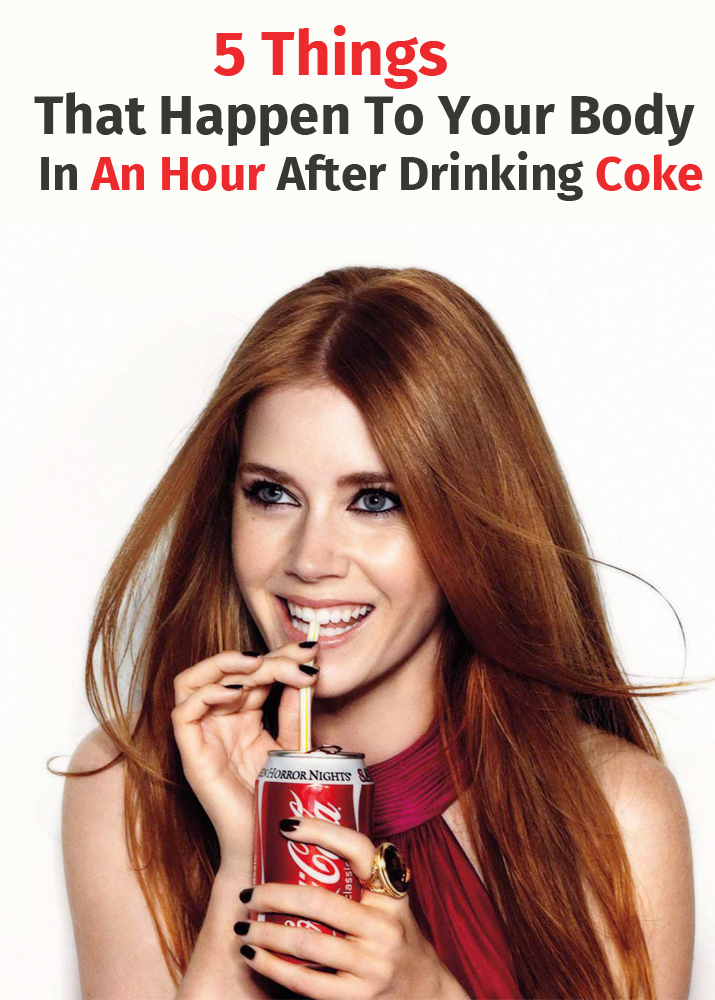 5 Things That Happen To Your Body In An Hour After Drinking Coke