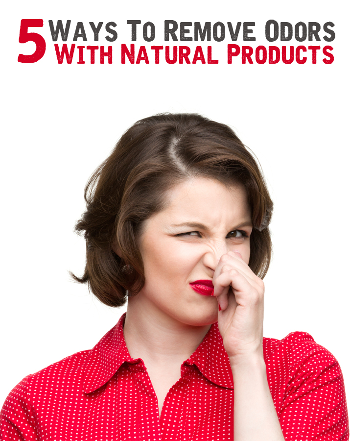 5 ways to remove odors with natural products