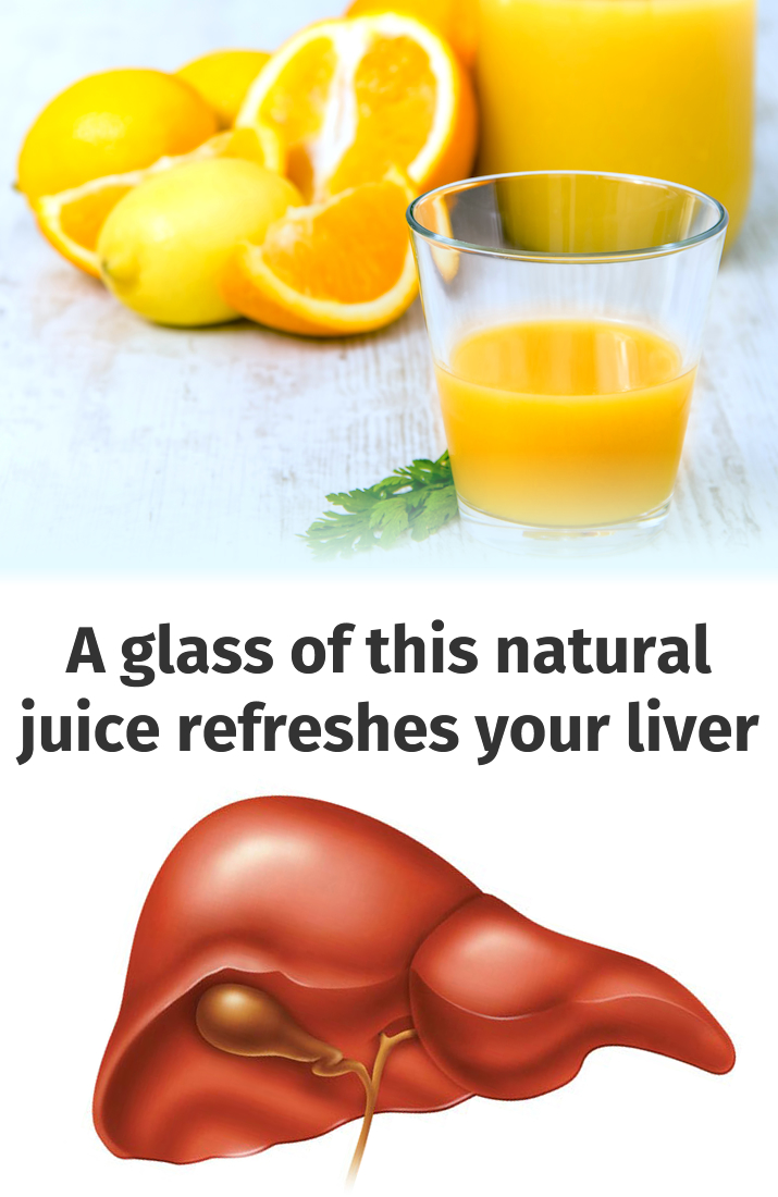 A glass of this natural juice refreshes your liver