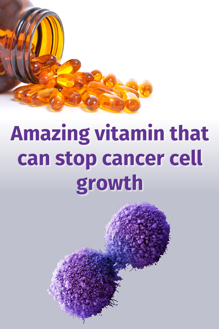 Amazing vitamin that can stop cancer cell growth