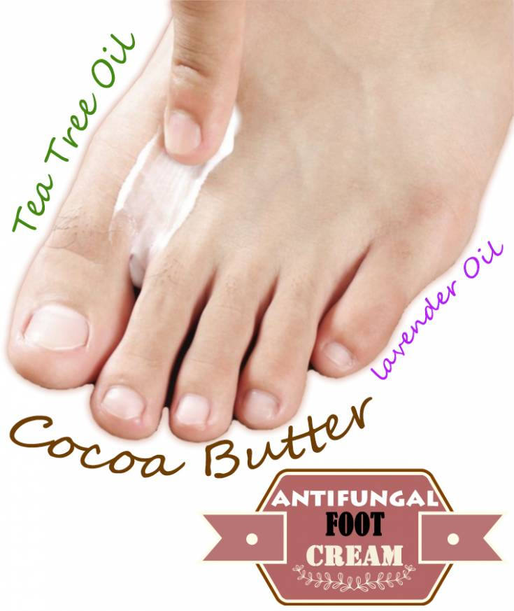 Do it yourself antifungal foot cream2