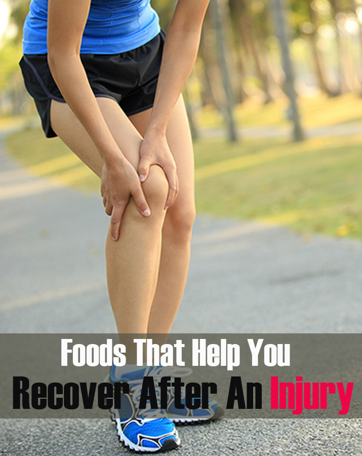 Foods That Help You Recover After An Injury