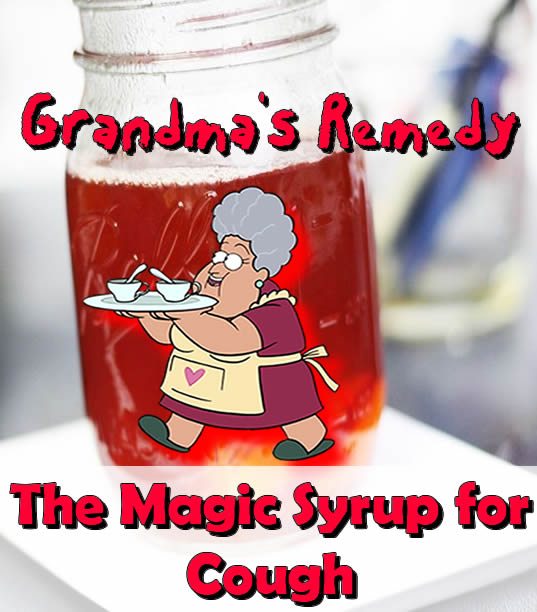 Grandma's Remedy The Magic Syrup for Cough