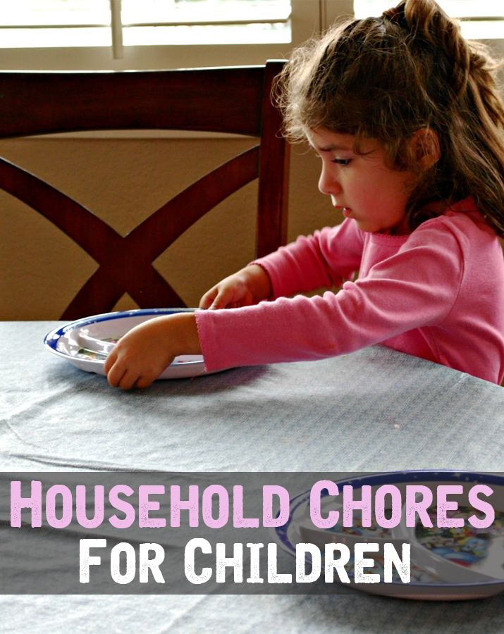 Household chores for children