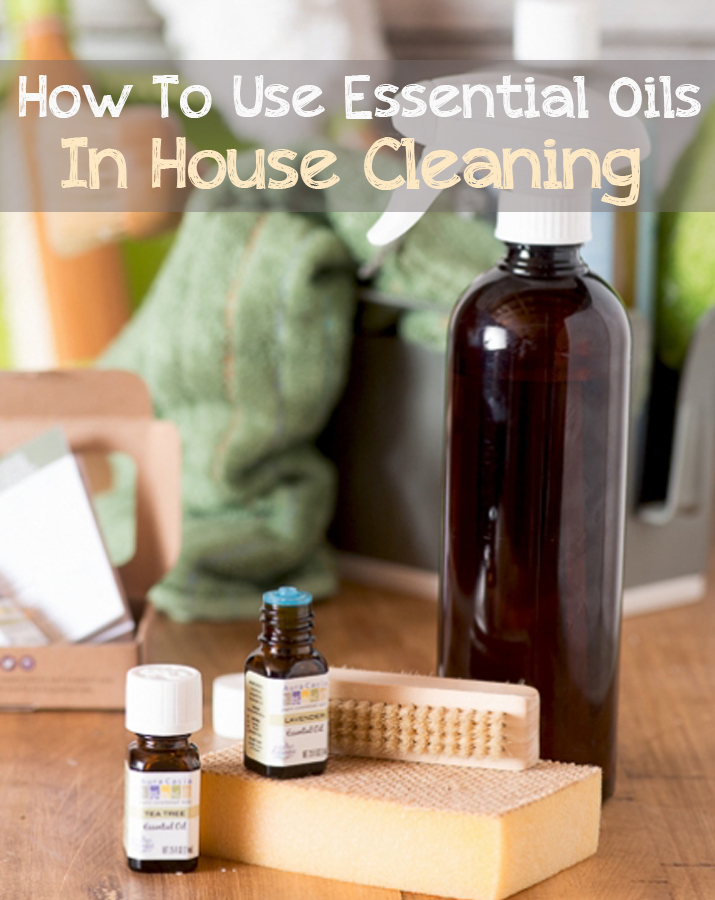 How To Use Essential Oils In House Cleaning