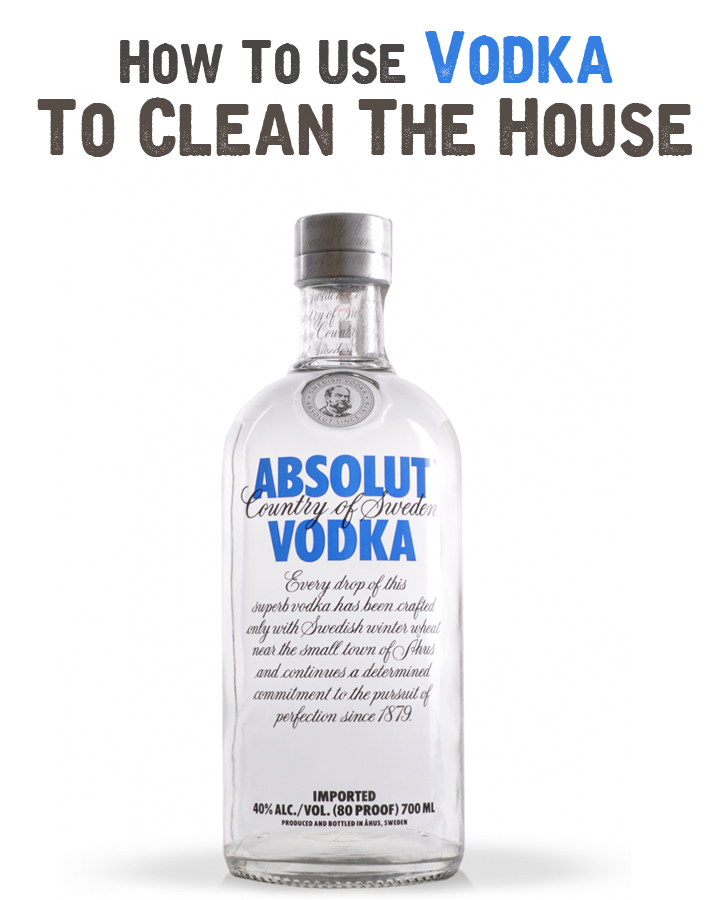 how to clean microfiber with vodka