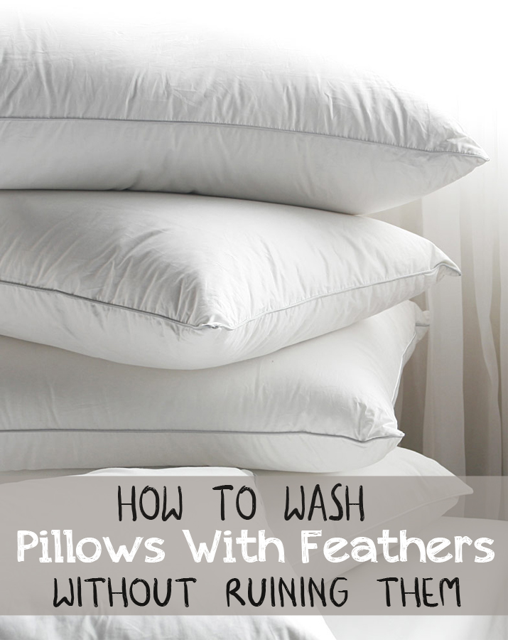 How To Wash Pillows With Feathers Without Ruining Them