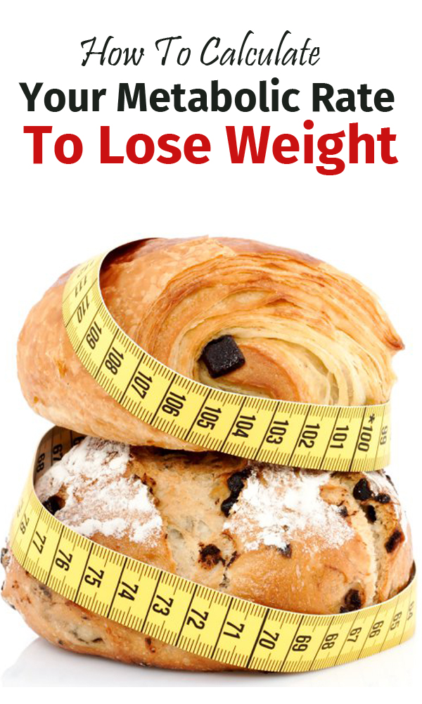 How to calculate your metabolic rate to lose weight