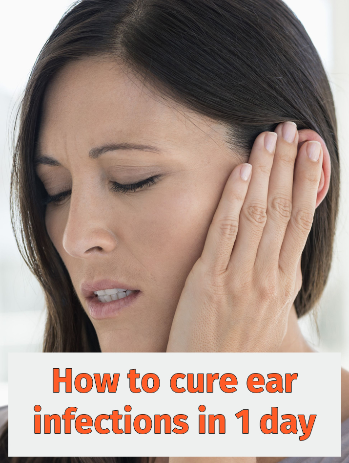 How to cure ear infections in 1 day