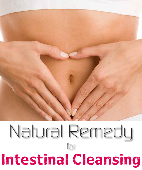 Natural Remedy for Intestinal Cleansing