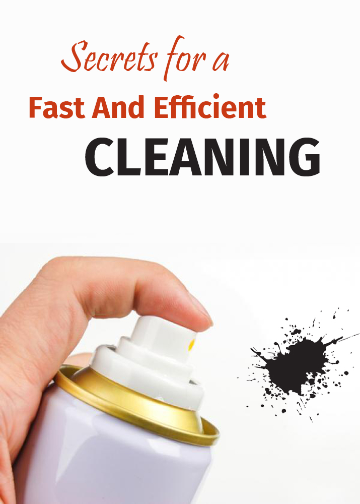 Secrets For A Fast And Efficient Cleaning