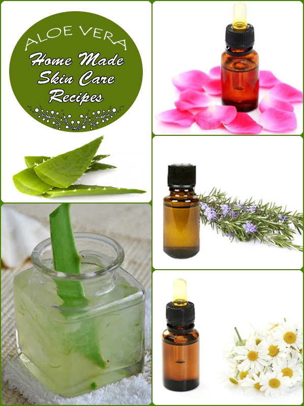 home Made Aloe Vera Skin care Recipes