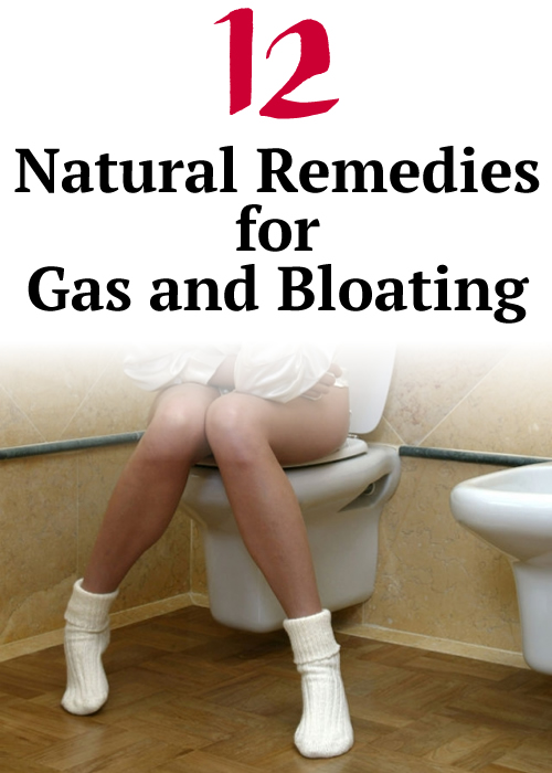 12 Natural Remedies for Gas and Bloating