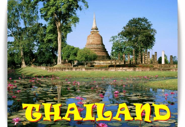 Have a great holiday in the eastern side of the world, Thailand