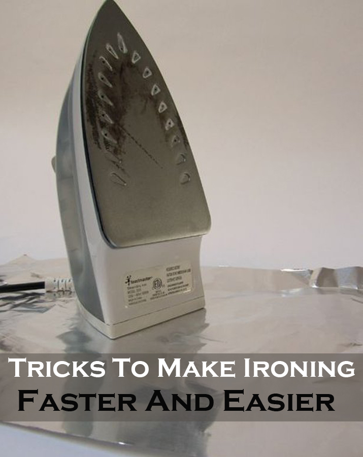 Tricks to make Ironing FASTER and EASIER