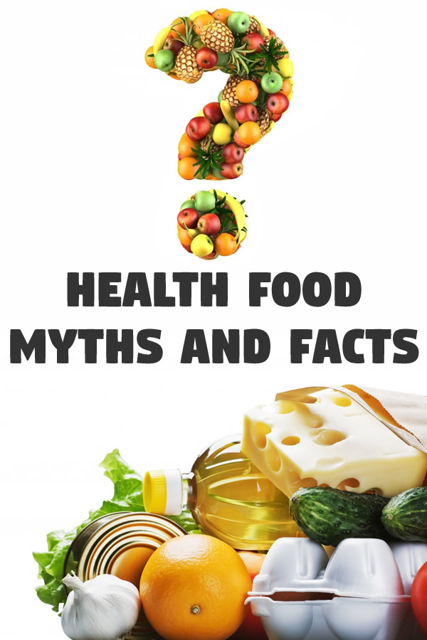 Health Food Myths and Facts