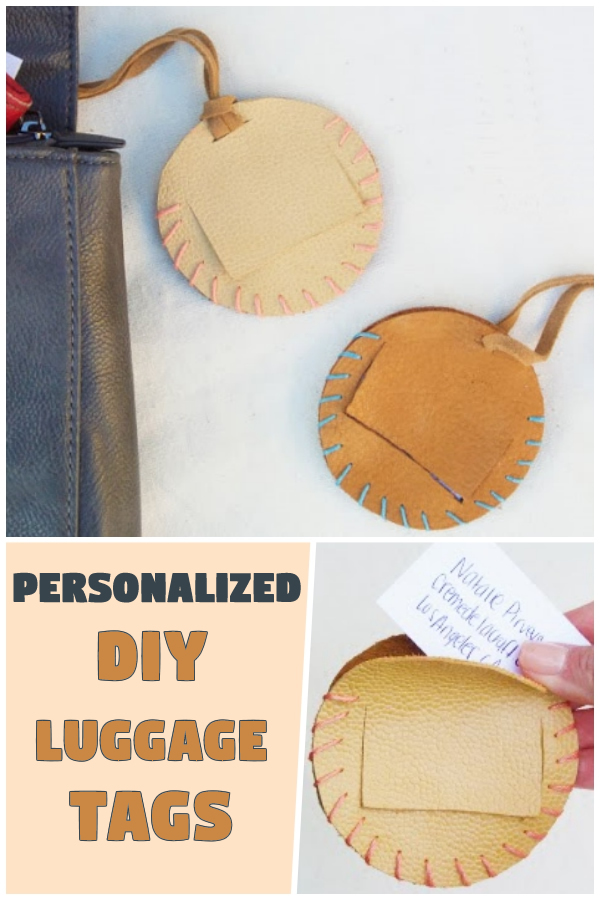 Personalized DIY Luggage Tags