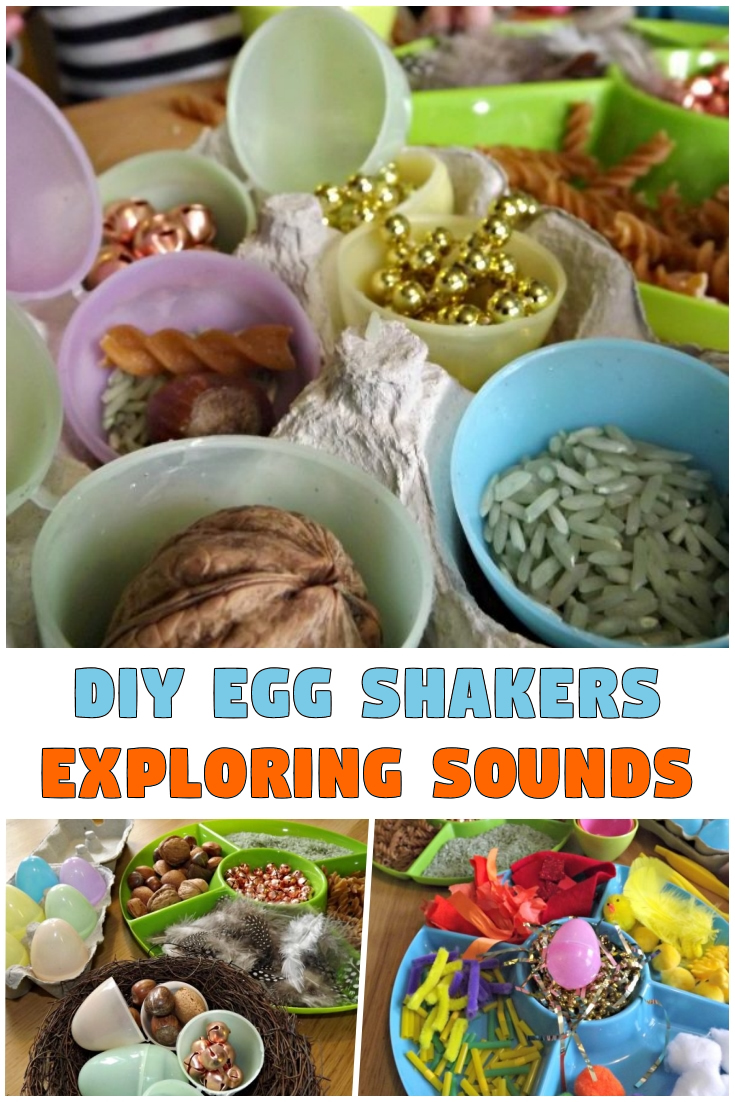 DIY Egg Shakers – Exploring Sounds