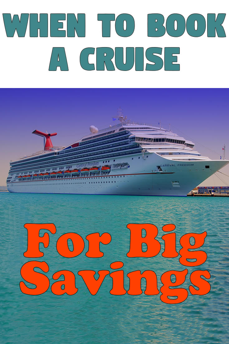 When to Book a Cruise for Big Savings
