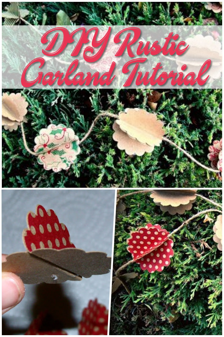 DIY Rustic Garland Tutorial