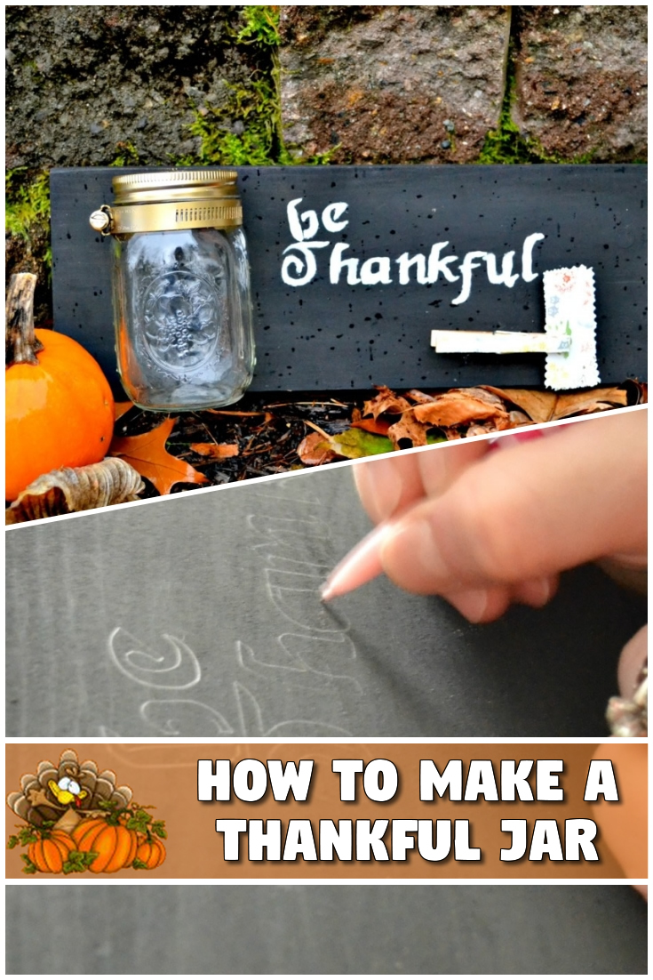 How to Make a Thankful Jar