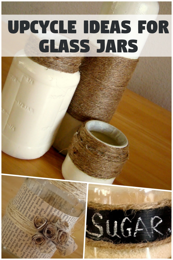 Upcycle Ideas for Glass Jars