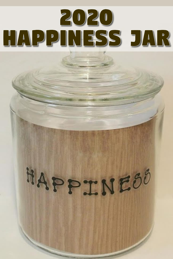 2020 Happiness Jar