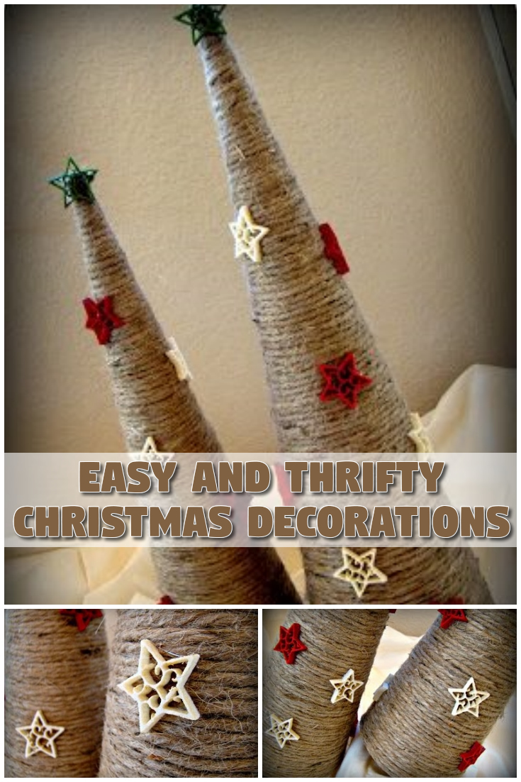 Easy and Thrifty Christmas Decorations