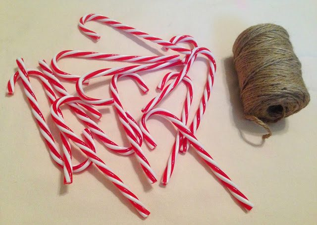 Twine Candy Canes