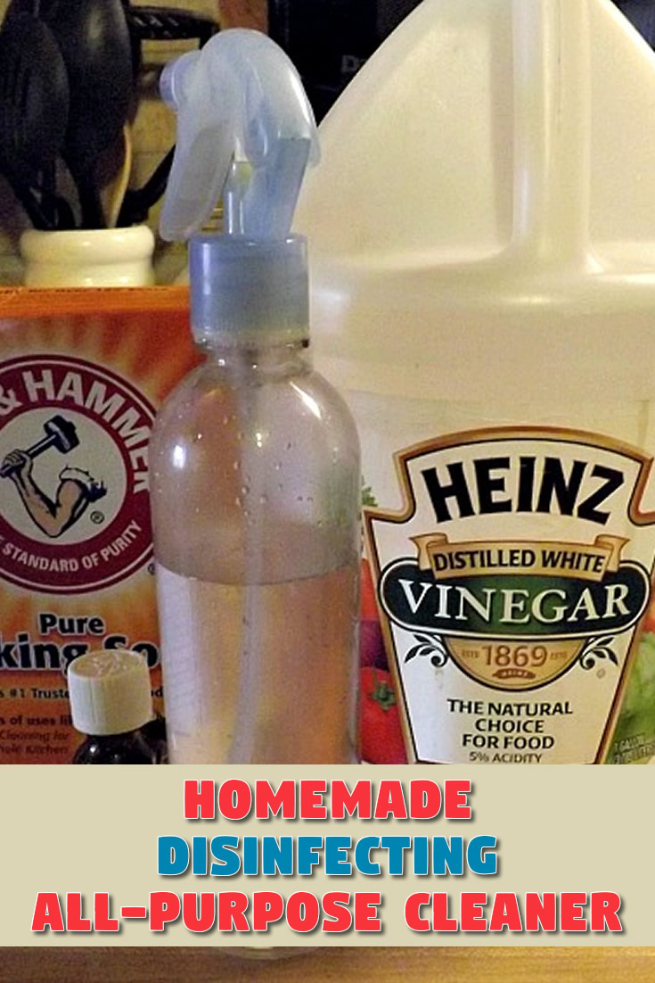 Homemade Disinfecting All-Purpose Cleaner