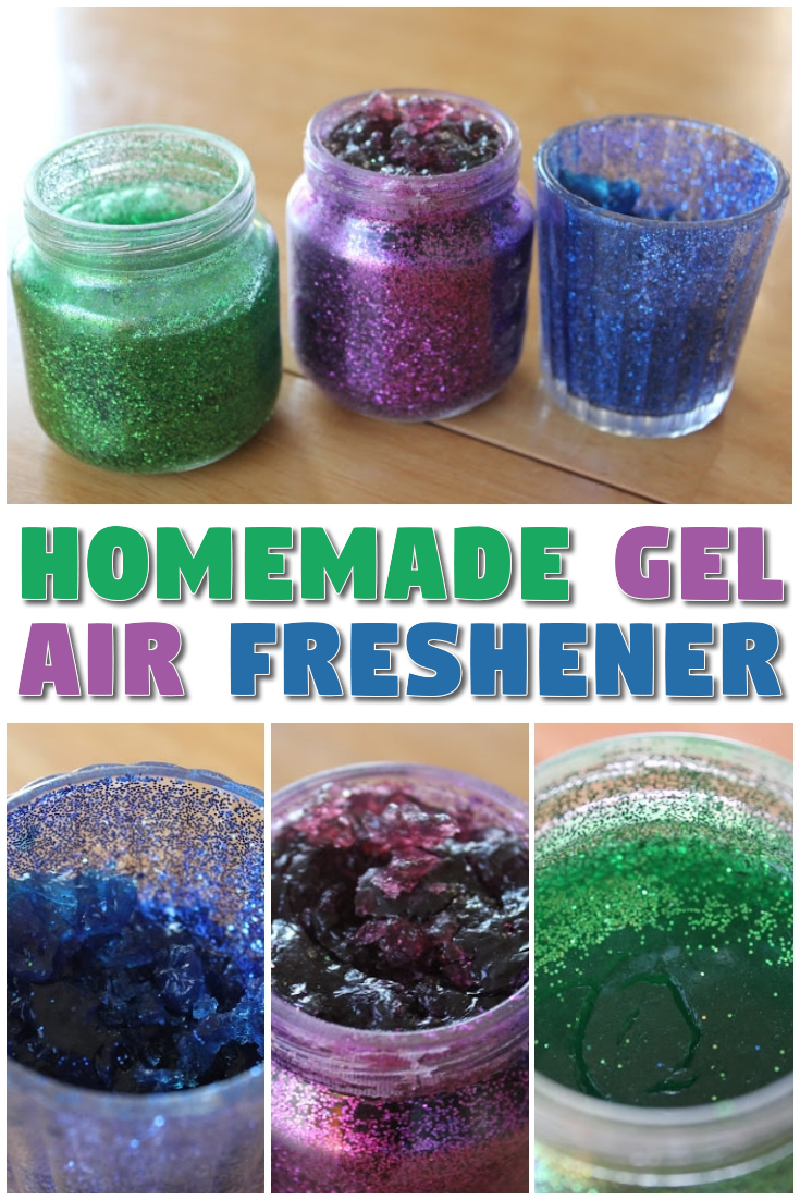 Homemade Gel Air Freshener