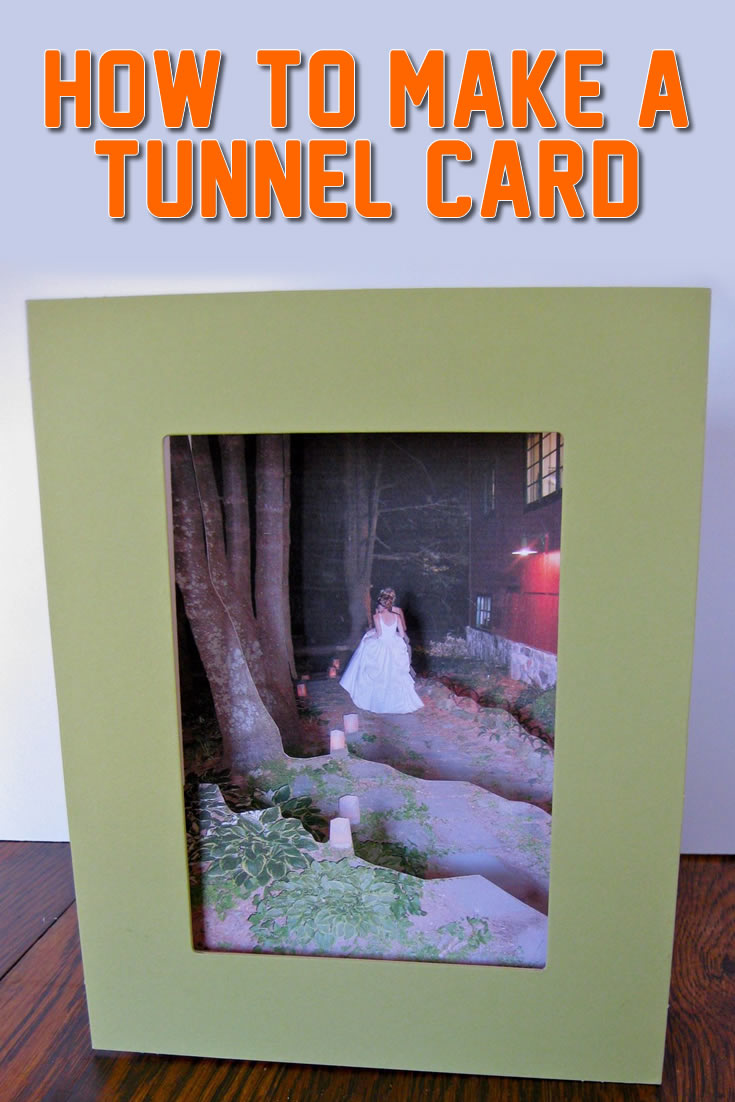 How to make a tunnel card