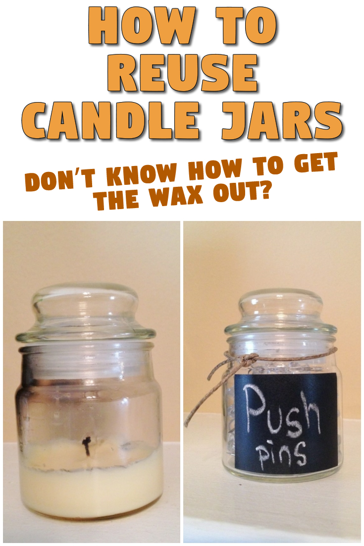 How to reuse candle jars