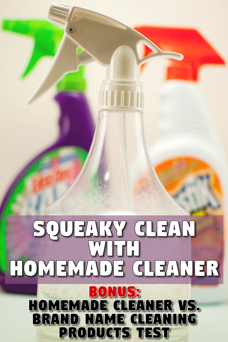 Squeaky clean with this homemade cleaner
