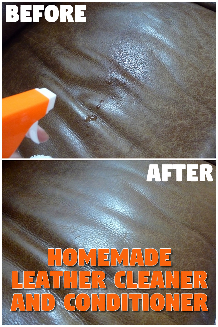 Homemade Leather Cleaner and Conditioner