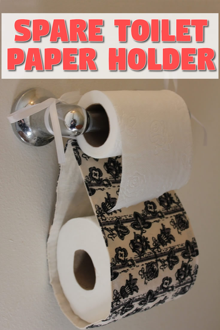 Spare Toilet Paper Holder