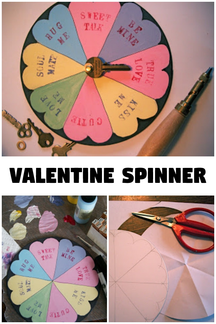 Valentine's Day Spinner