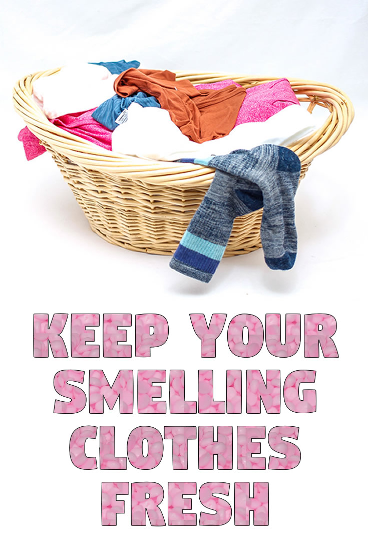 Keep your Smelling Clothes Fresh