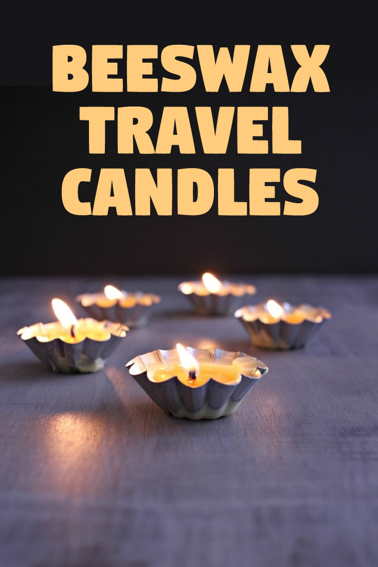 Beeswax Travel Candles