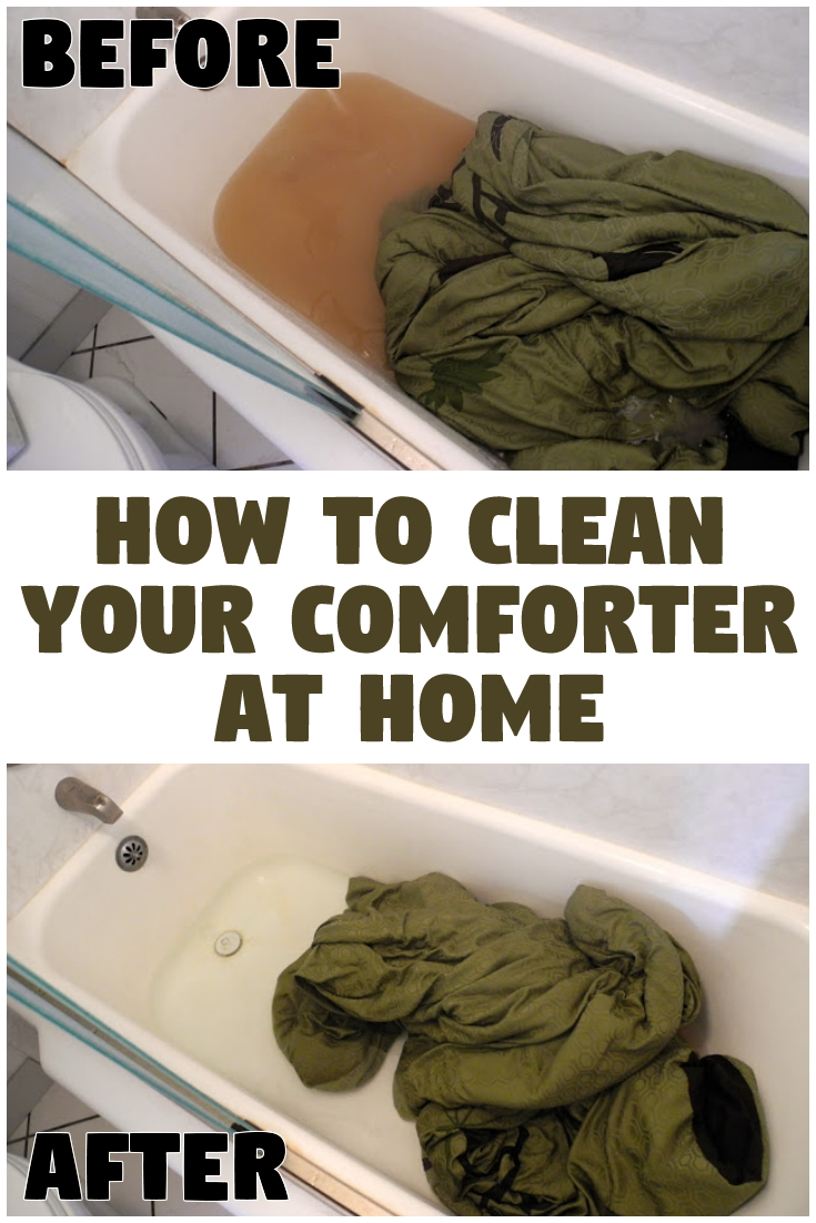 How to Clean Your Comforter at Home