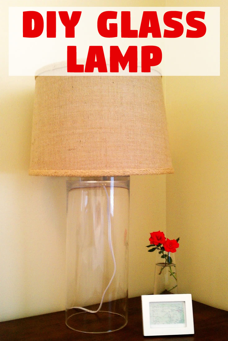 How to Make a Glass Vase Lamp