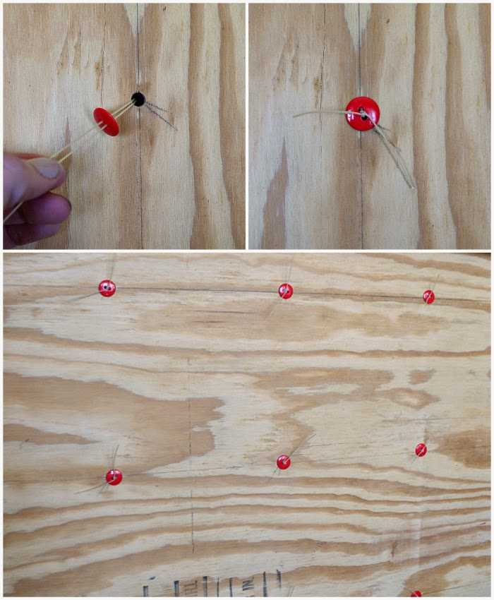How to Tuft a Headboard